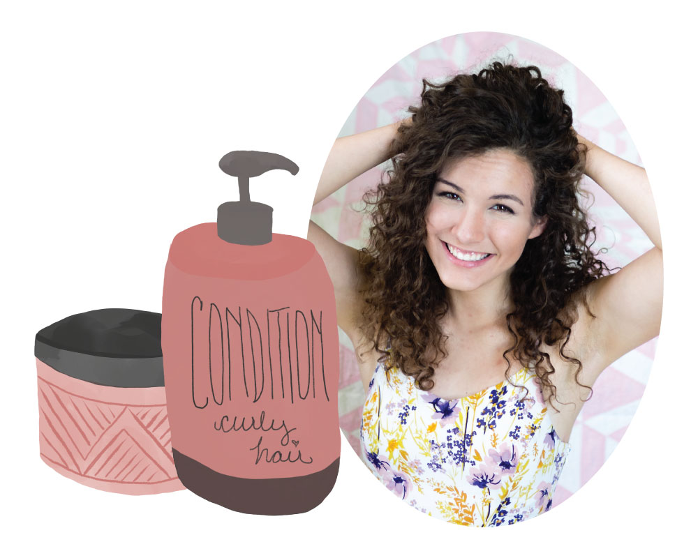 Products and tips for learning to love your curly hair.