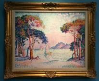 Juan-les-Pins-Soir,1914-oil-on-canvas