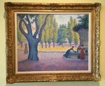 Saint-Tropez-Fontaine-des-Lices-1895-oil-on-canvas