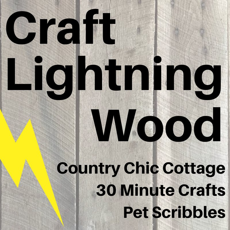 Craft Lightning Wood Projects