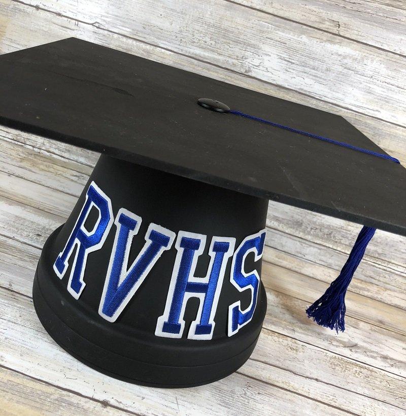 DIY Graduation Cap Cake Plate Creatively Beth