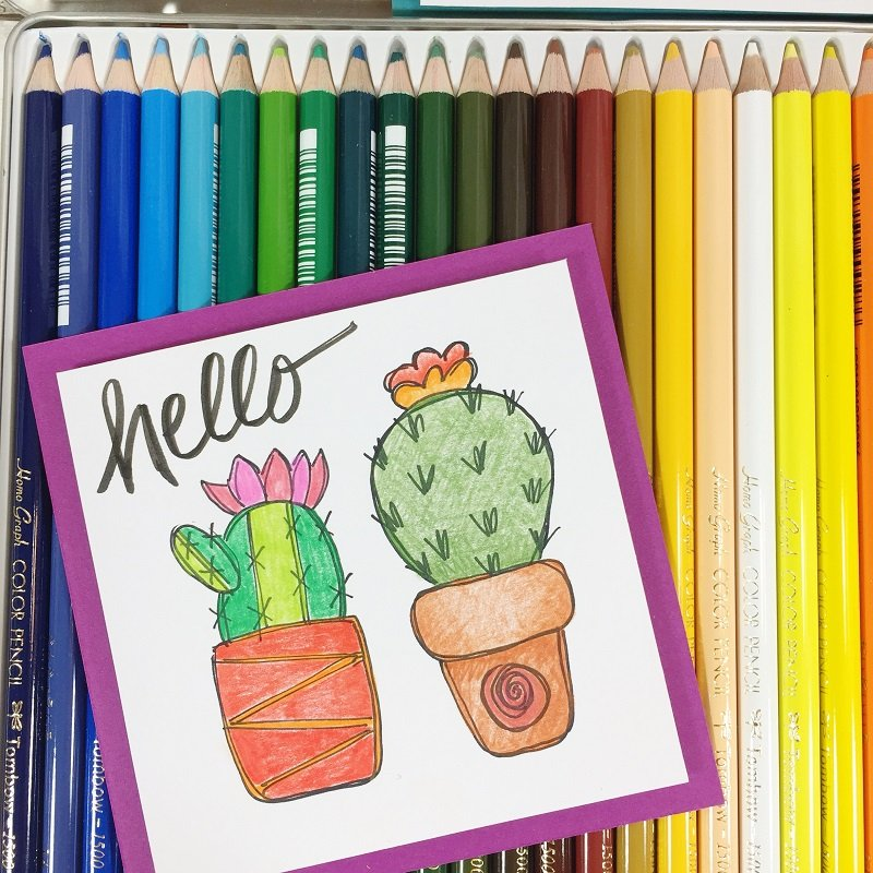 graphic relating to Printable Draw named How toward Attract Succulents with a Cost-free Printable - Creatively Beth
