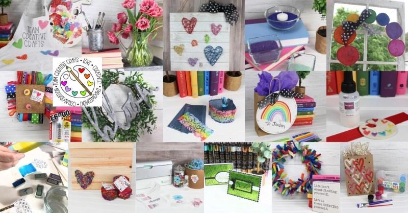 Team Creative Crafts Craft-A-Thon Creatively Beth Bella Crafts Publishing Laura Kelly Designs #teamcreativecrafts