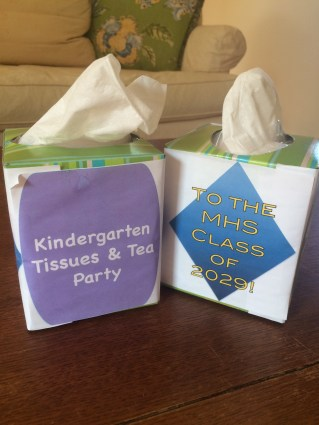 Kindergarten Tissue Boxes