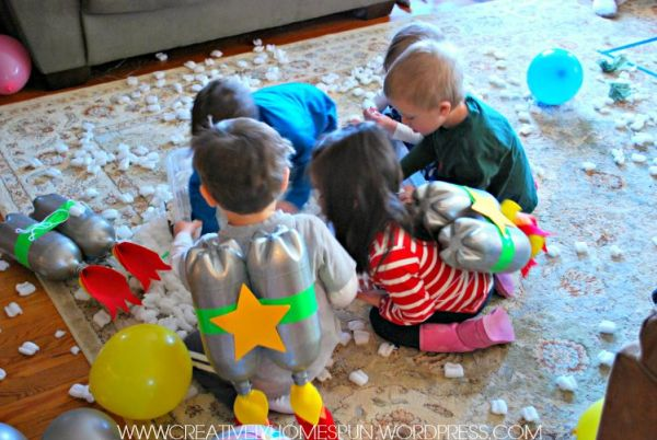 Outer Space Birthday!! #partydecor #DIYparty #kidsparty