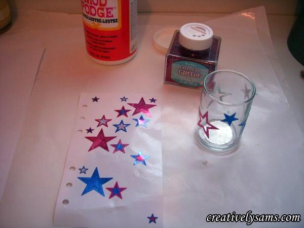 10 Patriotic Decorations Candle Wraps