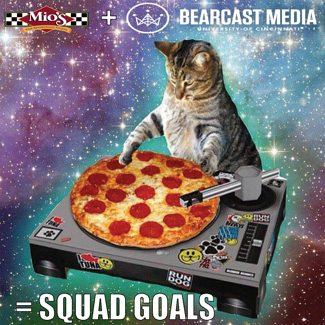 Bearcast Media + Mio's Pizza promo 2