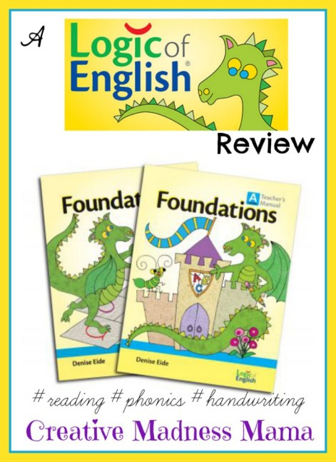 Logic of English Foundations Level A Review from @CherryBlossomMJ