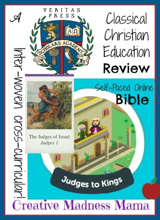 Creative-Madness-Mama-is-extremely-enthusiastic-about-the-NEW-@VeritasPress-Self-Paced-Online Bible OT2 Judges to Kings #hsreviews #classicaleducation #onlinebible #homeschoolbible
