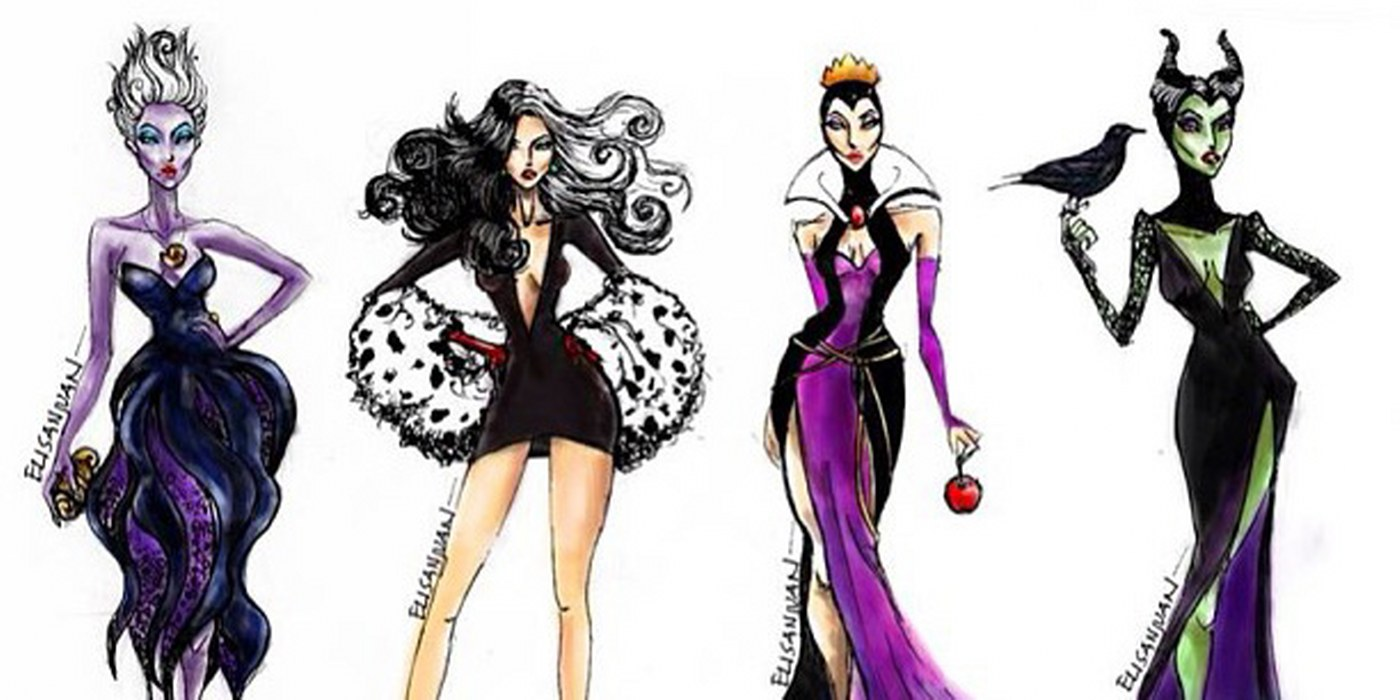 DISNEY HIGH FASHION SKETCHES by Eli San Juan     Creative Manila