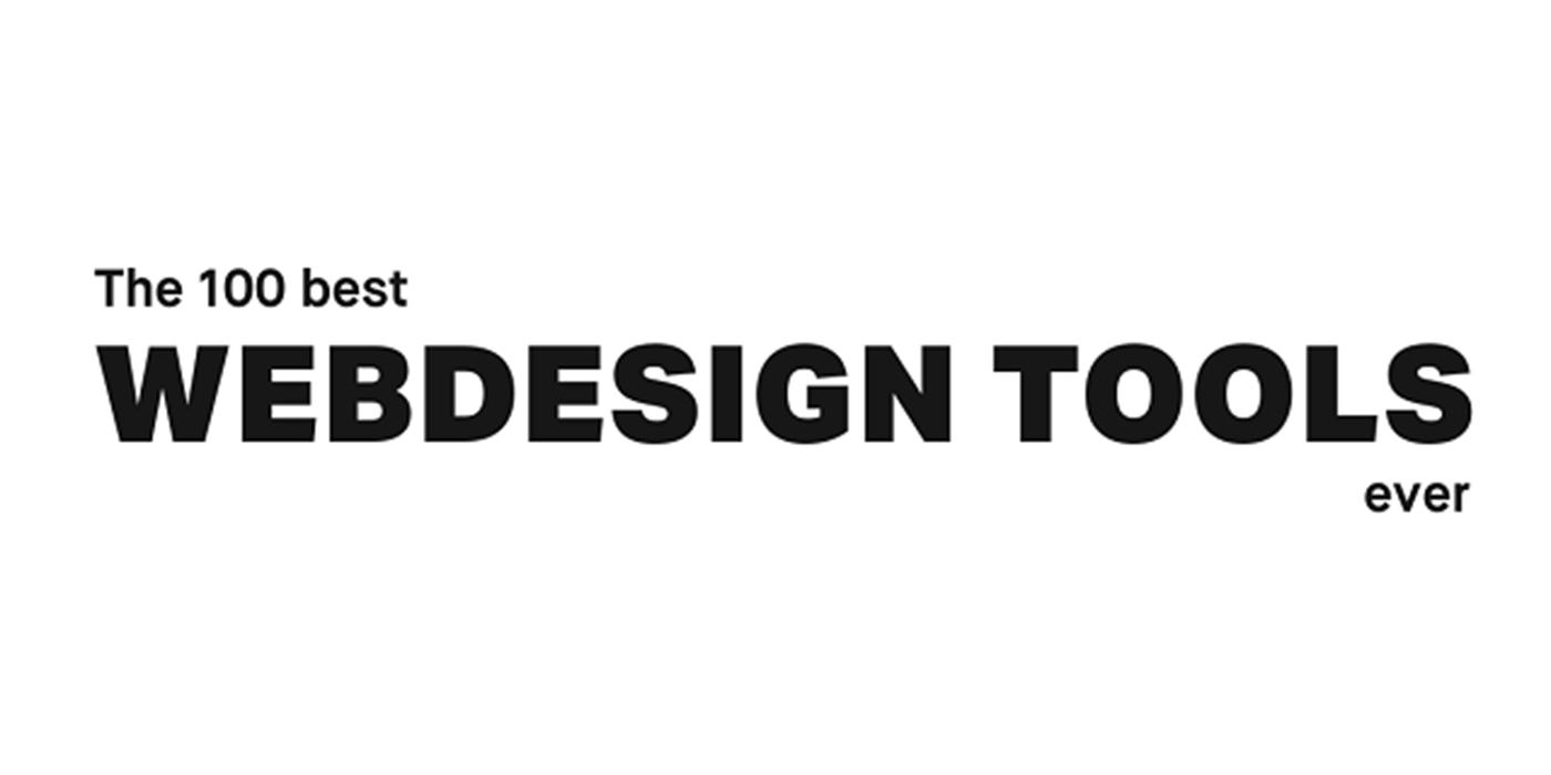INFOGRAPHIC: The 100 Best Web Design Tools Ever – Creative Manila