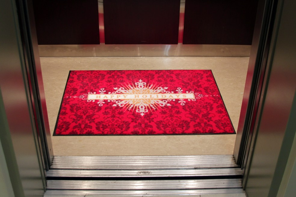 Another idea: Elevator mat!