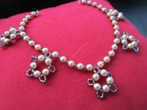 "DIY: un collier de perles ""Rosybrown"" par Creativemumandco"