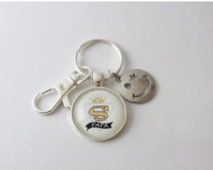 Porte clés super Papa Fete des Papas