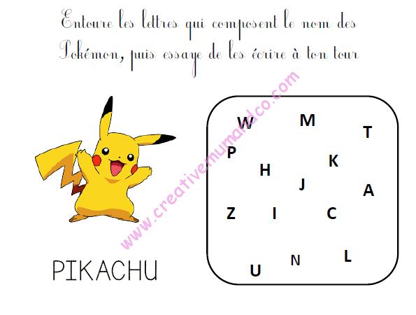 Bien-aimé Un cahier d'activités Pokémon gratuit à télécharger ! - SD63
