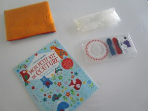 Kit de couture Usborne contenu