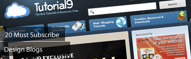 20 must subscribe design blogs