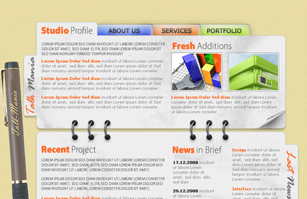 design-agency-layout