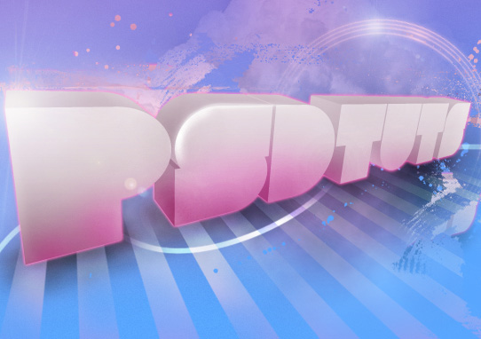 Design Soft Stylized 3D Type