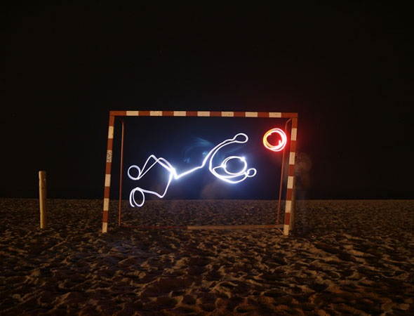 fotball-light-paiting