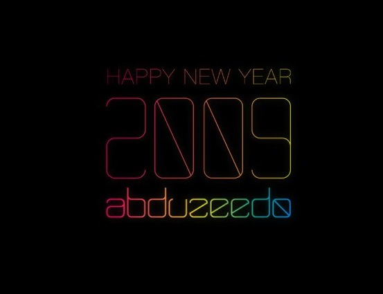illustrator_text_effects_trendy_happy_new_year