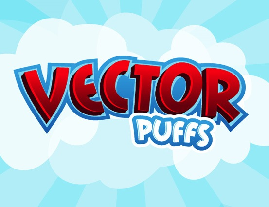 illustrator_text_effects_vector_puffs