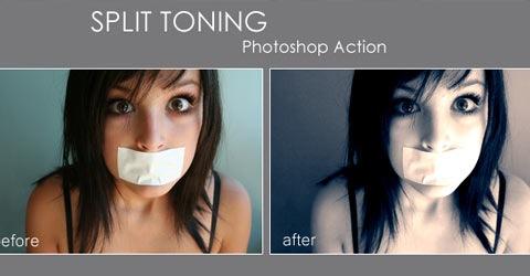 spli-toning