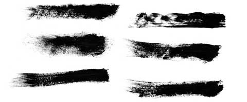 dry-brush-strokes
