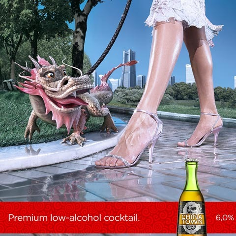 chinatown 100 Most Funny and Creative Advertisement Designs