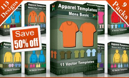 vector_t-shirt_templates