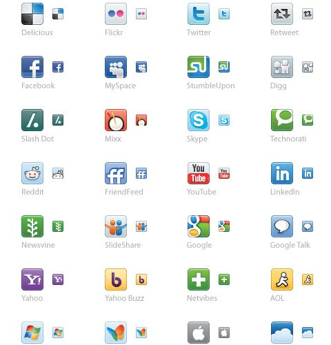 vector-soucial-media-icons