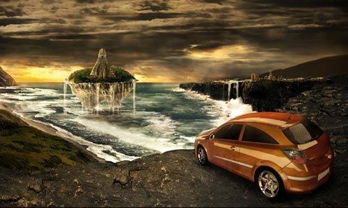 car-island