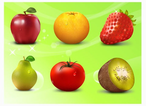 fruit-icon-set