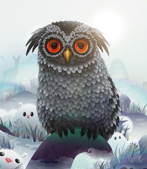 zutto-owl