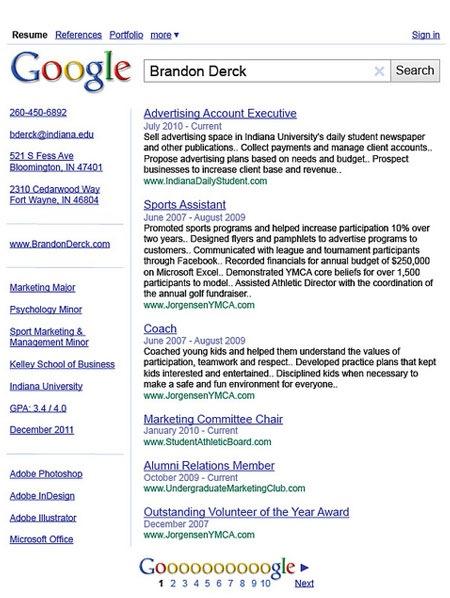 google-cv