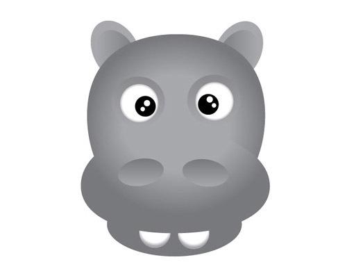 hippo-head