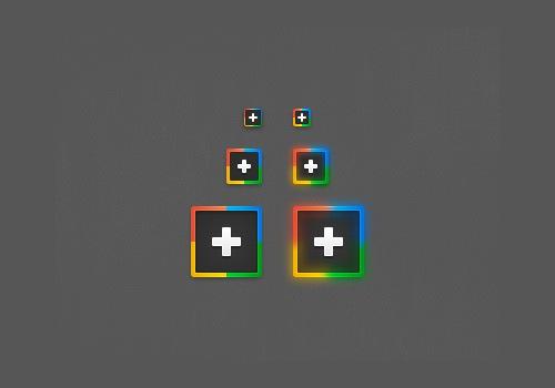 virbrant-google-plus-icons