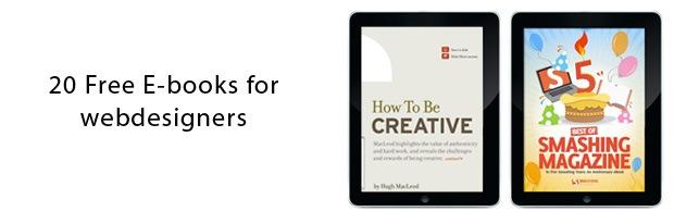 freeebooksforwebdesigners 20 Free E books For Web Designers