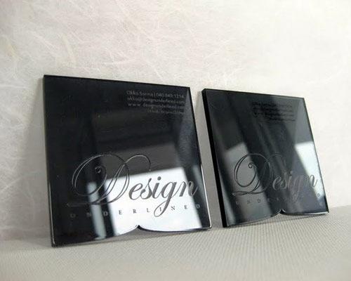 acyrlic-business-card-design