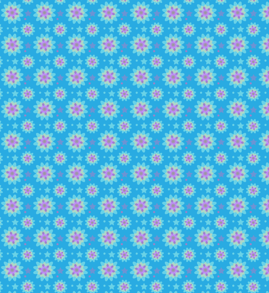blue-vibrant-seamless-pattern