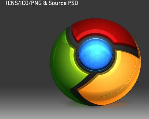 chrome-psd-icons