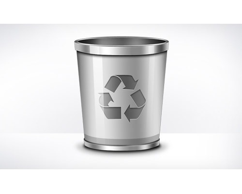 recylebinpsdicon 50 Free 3D High Quality PSD File Icons