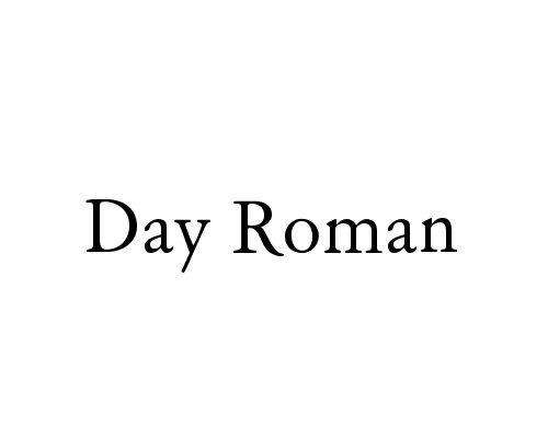 day-roman
