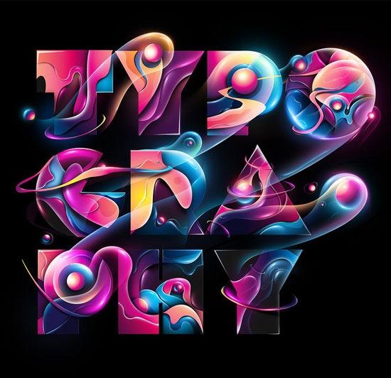 vibrant-typography