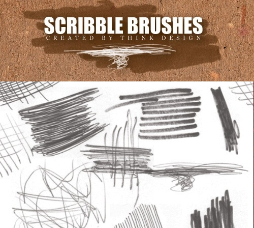 scribble-brushes