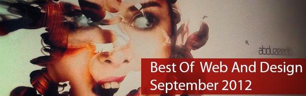 bestwebseptember Best Of Web And Design In September 2012