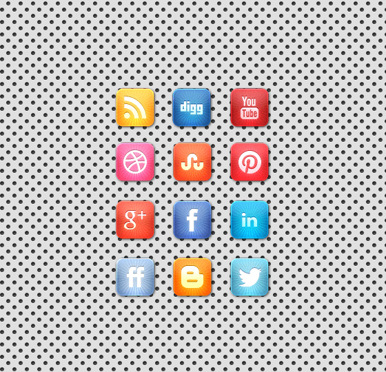 starburst-social-media-icon-set