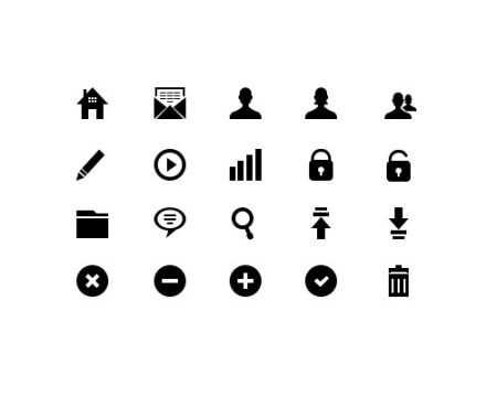 glyphicons 40 Best Free Icon Sets Released 2012