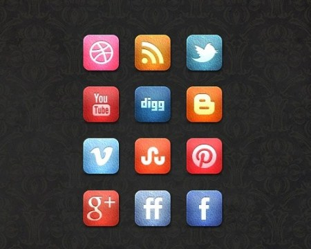 leathericons 40 Best Free Icon Sets Released 2012