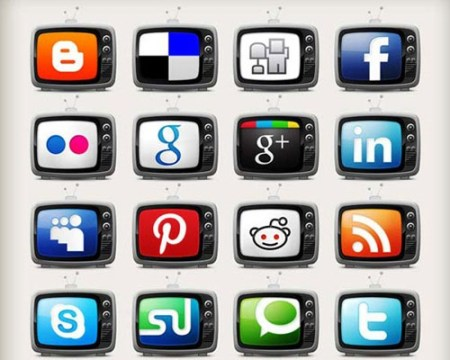tvicons 40 Best Free Icon Sets Released 2012